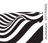 waves stripes   abstract... | Shutterstock .eps vector #1577755051