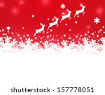 merry christmas background with ... | Shutterstock .eps vector #157778051