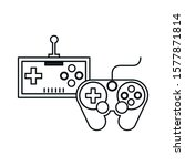 video game controls handle...