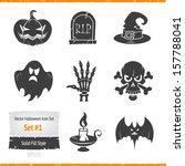 Halloween Vector Icon Set