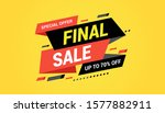 final sale banner  special... | Shutterstock .eps vector #1577882911