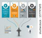 infographics illustration | Shutterstock .eps vector #157797695