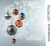 holiday background with... | Shutterstock .eps vector #157797701