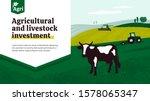 illustration of agriculture... | Shutterstock .eps vector #1578065347