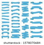 ribbon banners  template labels ... | Shutterstock .eps vector #1578070684