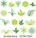 nature icons | Shutterstock .eps vector #157817264