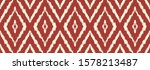 ikat geometric folklore... | Shutterstock .eps vector #1578213487