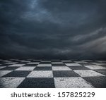 Chess Floor And Dramatic...