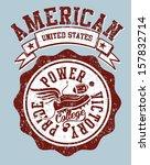 american college sports vector... | Shutterstock .eps vector #157832714