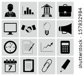 business icons | Shutterstock .eps vector #157832984