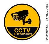 Cctv Camera. Black Video...