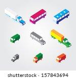 isometric illustration set ... | Shutterstock .eps vector #157843694