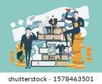 businessman character design... | Shutterstock .eps vector #1578463501