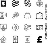 money vector icon set such as ...   Shutterstock .eps vector #1578486901