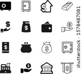 money vector icon set such as ... | Shutterstock .eps vector #1578487081