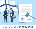 finland international... | Shutterstock .eps vector #1578543331