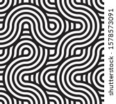 seamless rounded pattern in... | Shutterstock .eps vector #1578573091