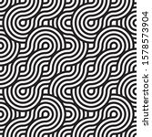 seamless rounded pattern in... | Shutterstock .eps vector #1578573904