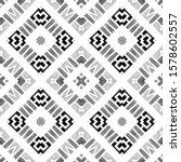 geometric watercolor african... | Shutterstock . vector #1578602557