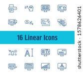 web design icon set and mobile...