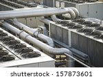 air cooling industrial system   Shutterstock . vector #157873601