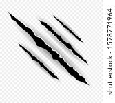 claws scratches   vector...   Shutterstock .eps vector #1578771964