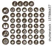 seo icon set  vector...