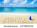 """Sign """"happy Birthday"""" With Hat..."""