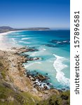 beautiful noordhoek beach... | Shutterstock . vector #157896581