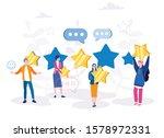 customers satisfaction review....   Shutterstock .eps vector #1578972331