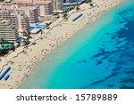 aerial view of a mediterranean... | Shutterstock . vector #15789889