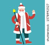 new year character santa claus   Shutterstock .eps vector #1578992527