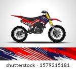 racing motorcycle wrap decal...   Shutterstock .eps vector #1579215181