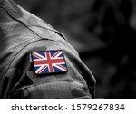 Flag Of United Kingdom On...
