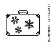 line icon of suitcase for... | Shutterstock .eps vector #1579310617