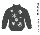 christmas sweater with...