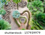 top view of a beautiful garden... | Shutterstock . vector #157939979