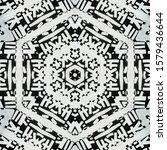 monochrome abstract... | Shutterstock . vector #1579436644