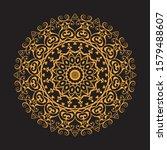 vintage decorate element.... | Shutterstock .eps vector #1579488607