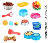 Stock photo collage of different stuff for animals 157949627