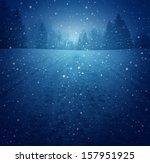 Winter Landscape Concept As A...