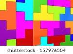 3d puzzle. | Shutterstock . vector #157976504