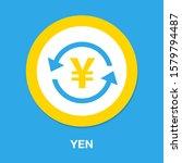 Yen Icon  Vector Yen Sign...