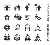 people icons   person work... | Shutterstock .eps vector #1579887727