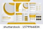 set of brochure template design ... | Shutterstock .eps vector #1579966834