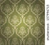 vintage wallpaper seamless  | Shutterstock .eps vector #157996715