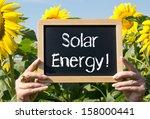 solar energy   | Shutterstock . vector #158000441