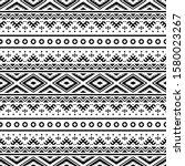 geometric tribal pattern in...   Shutterstock .eps vector #1580023267