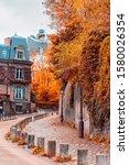 streets of montmartre in sunny... | Shutterstock . vector #1580026354
