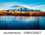 Sandia Mountains From The...